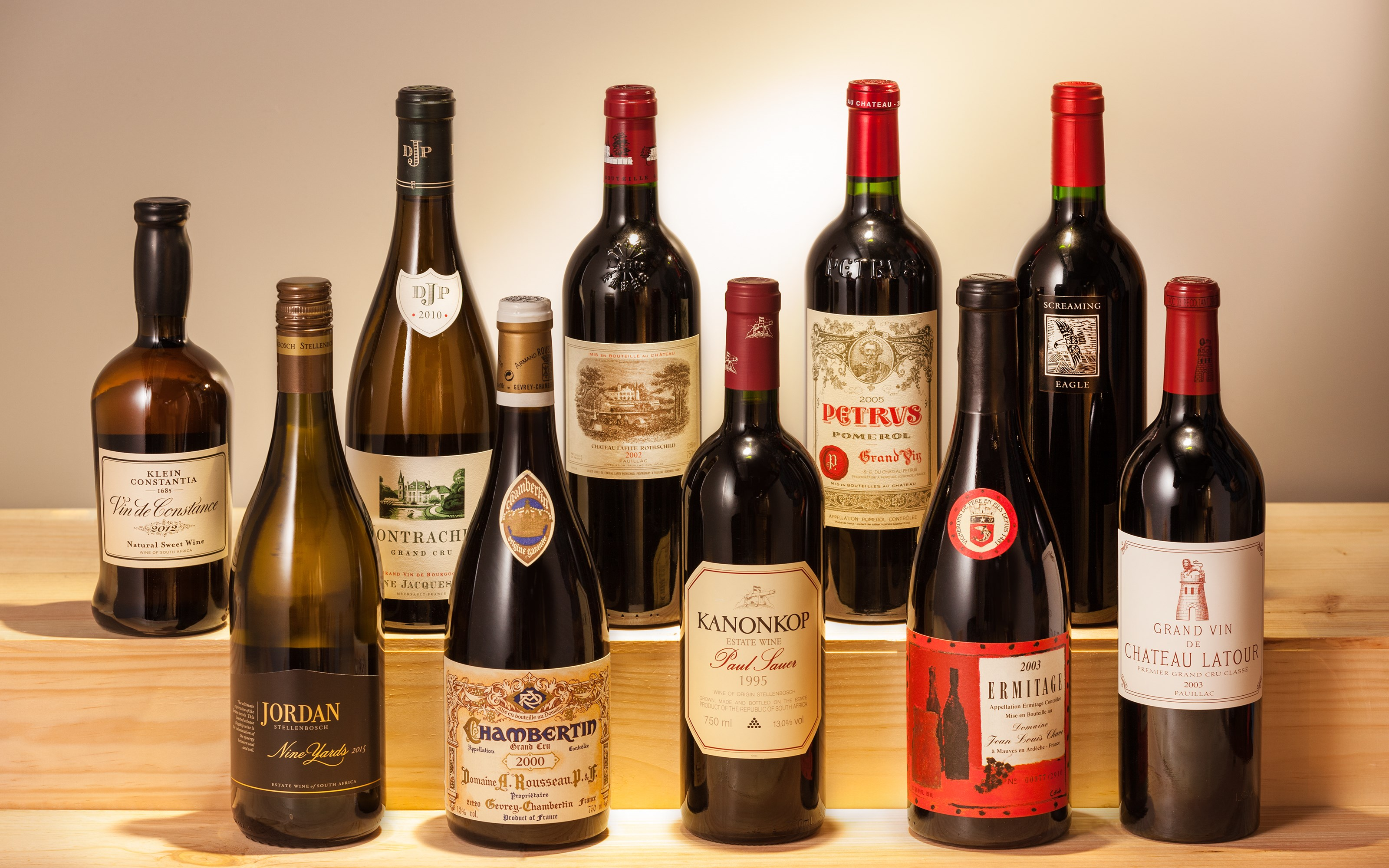 Fine & Rare Wines Featuring an auction at Christies