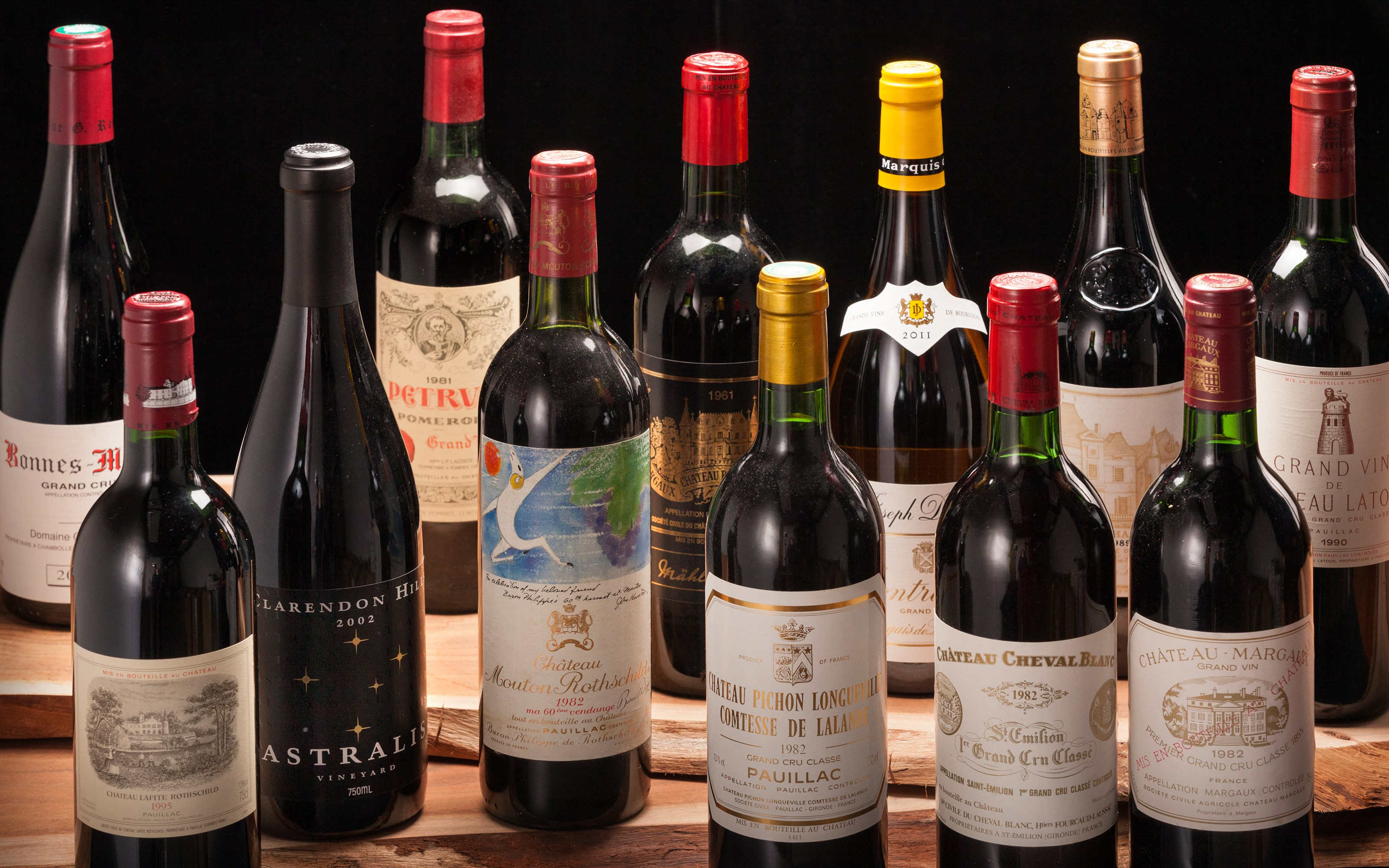 Fine & Rare Wines Featuring a  auction at Christies
