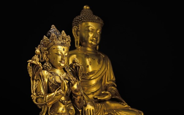 Buddhist Art Under the Empire  auction at Christies