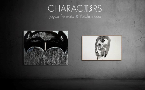 Characters - Joyce Pensato x Y auction at Christies