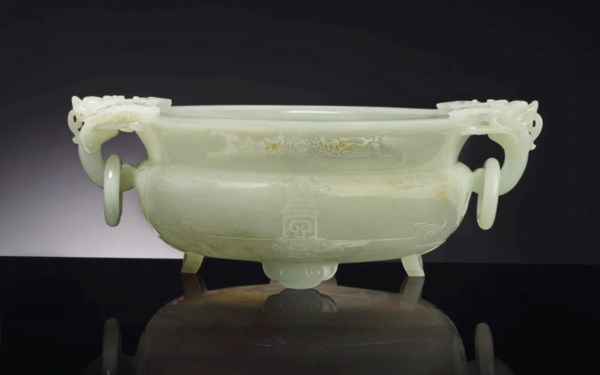 Fine Chinese Jade Carvings fro auction at Christies
