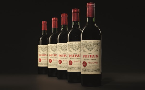 Finest & Rarest Wines Includin auction at Christies