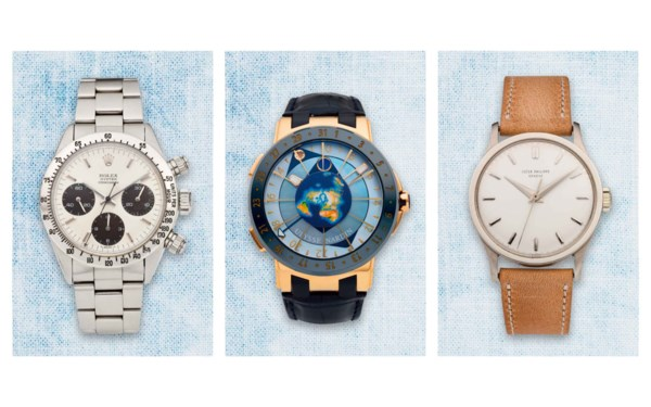 Watches Online auction at Christies