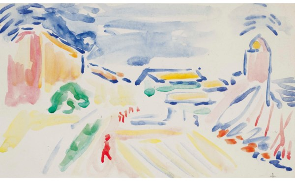Matisse on Paper: Prints & Dra auction at Christies