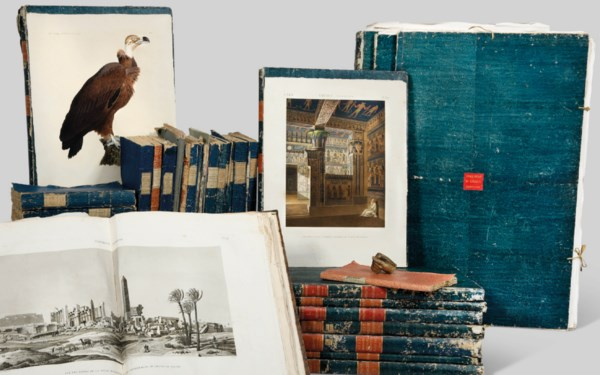 Livres rares et Manuscrits auction at Christies