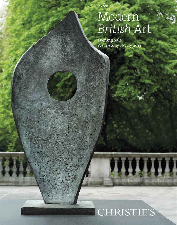 Modern British Art Evening Sal auction at Christies