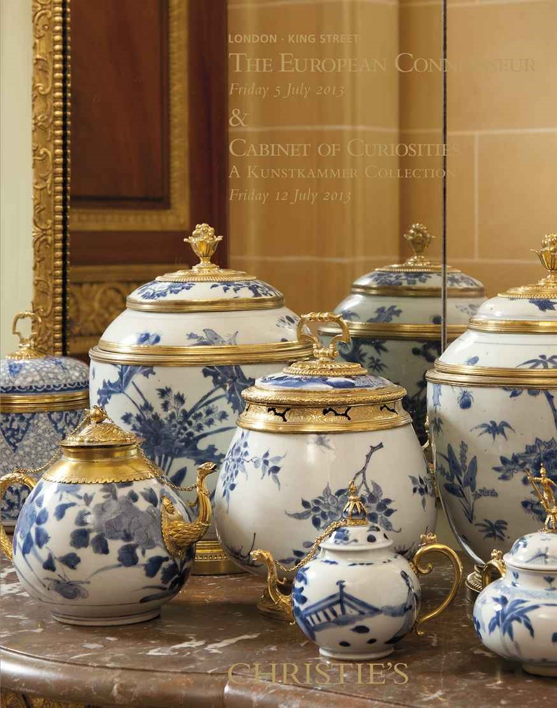 The European Connoisseur  auction at Christies