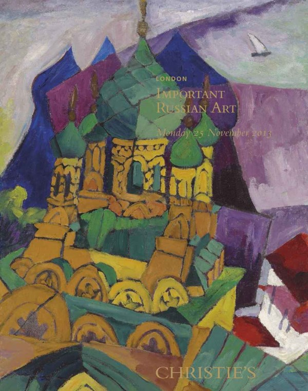 Important Russian Art auction at Christies