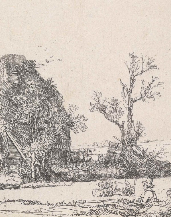 Fifty Prints by Rembrandt van  auction at Christies