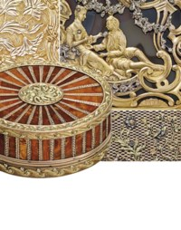 Magnificent Gold Boxes from a  auction at Christies