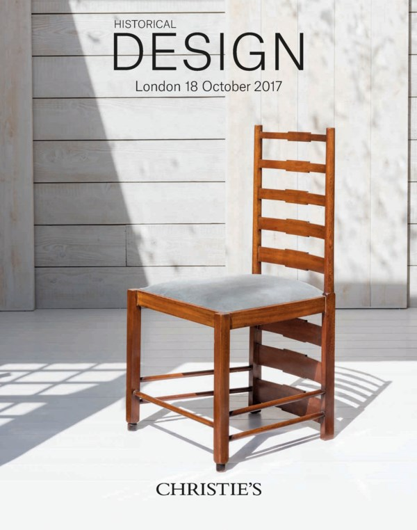 Historical Design auction at Christies