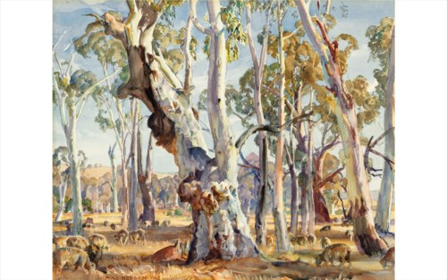 Topographical Pictures with Australian Art