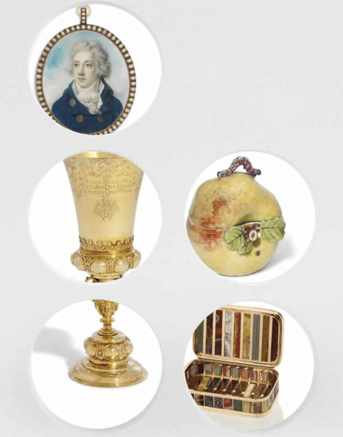Centuries of Style: Silver, European Ceramics, Portrait Miniatures and Gold Boxes
