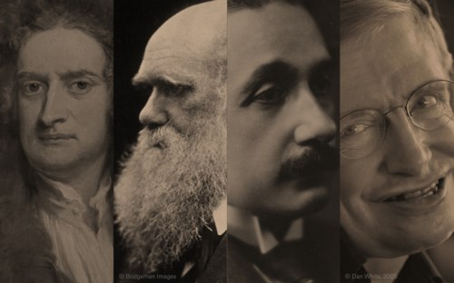 On the Shoulders of Giants: Newton, Darwin, Einstein, Hawking