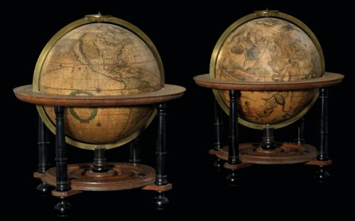 Important Books, Atlases, Globes & Scientific Instruments from the Collection of Nico and Nanni Israel