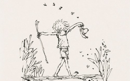Quentin Blake: Not in Books