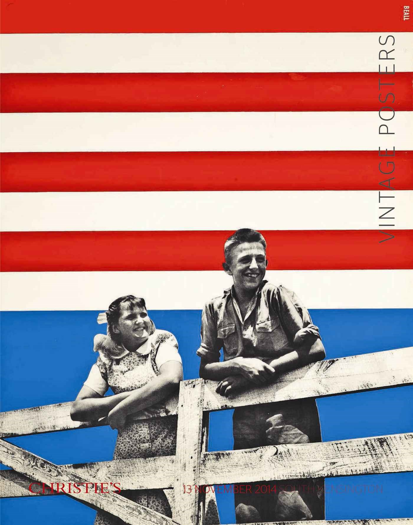 Vintage Posters auction at Christies