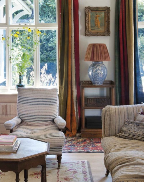 Robert Kime, David Bedale, Piers von Westenholz and Christopher Gibbs - The English Home