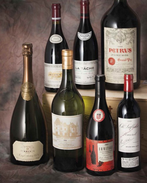 Fine and Rare Wines Featuring Exceptional Private Collections