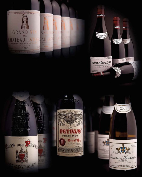 Finest & Rarest Wines from An  auction at Christies