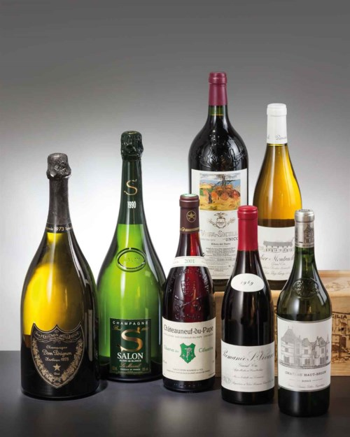 Fine and Rare Wines Featuring An Outstanding Collection of A Wine Lover & A Single Owner Collection