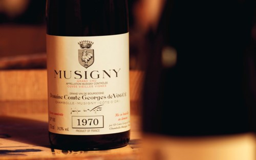Fine & Rare Wines: Direct from the Cellars of the Historic Domaine Comte Georges de Vogüé