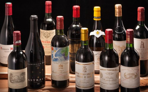 Fine & Rare Wines Featuring a Prestigious Private Collection