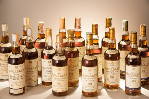 Finest & Rarest Wines and Spirits Featuring Prestigious Collections & Exceptional Whisky