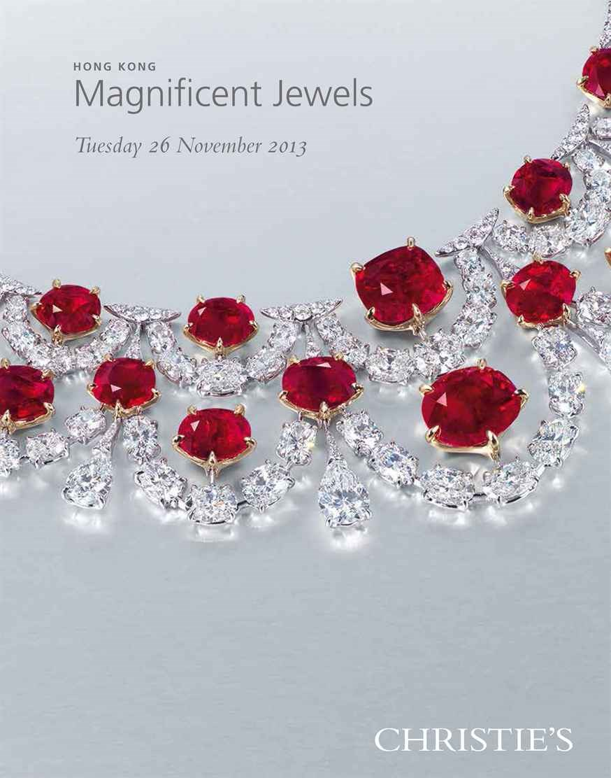 Hong Kong Magnificent Jewels auction at Christies