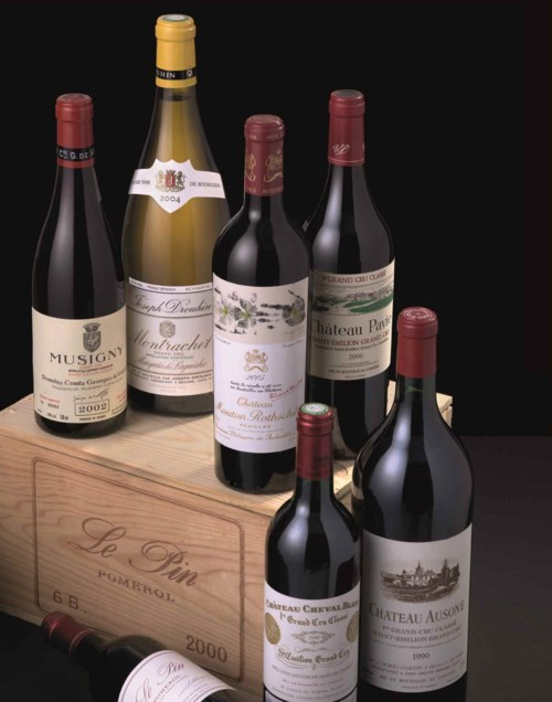 Fine and Rare Wines including the Collection of Peter Chu