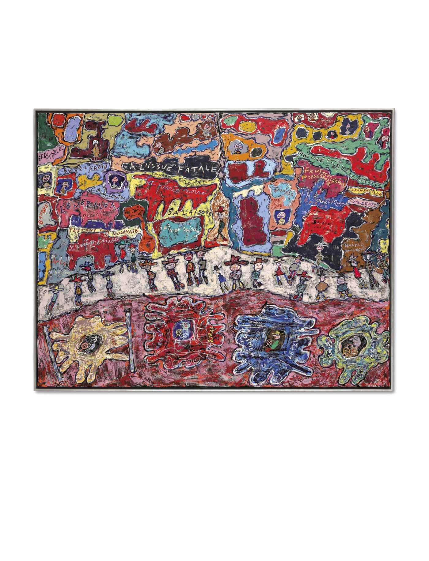 Post-War & Contemporary Art Ev auction at Christies