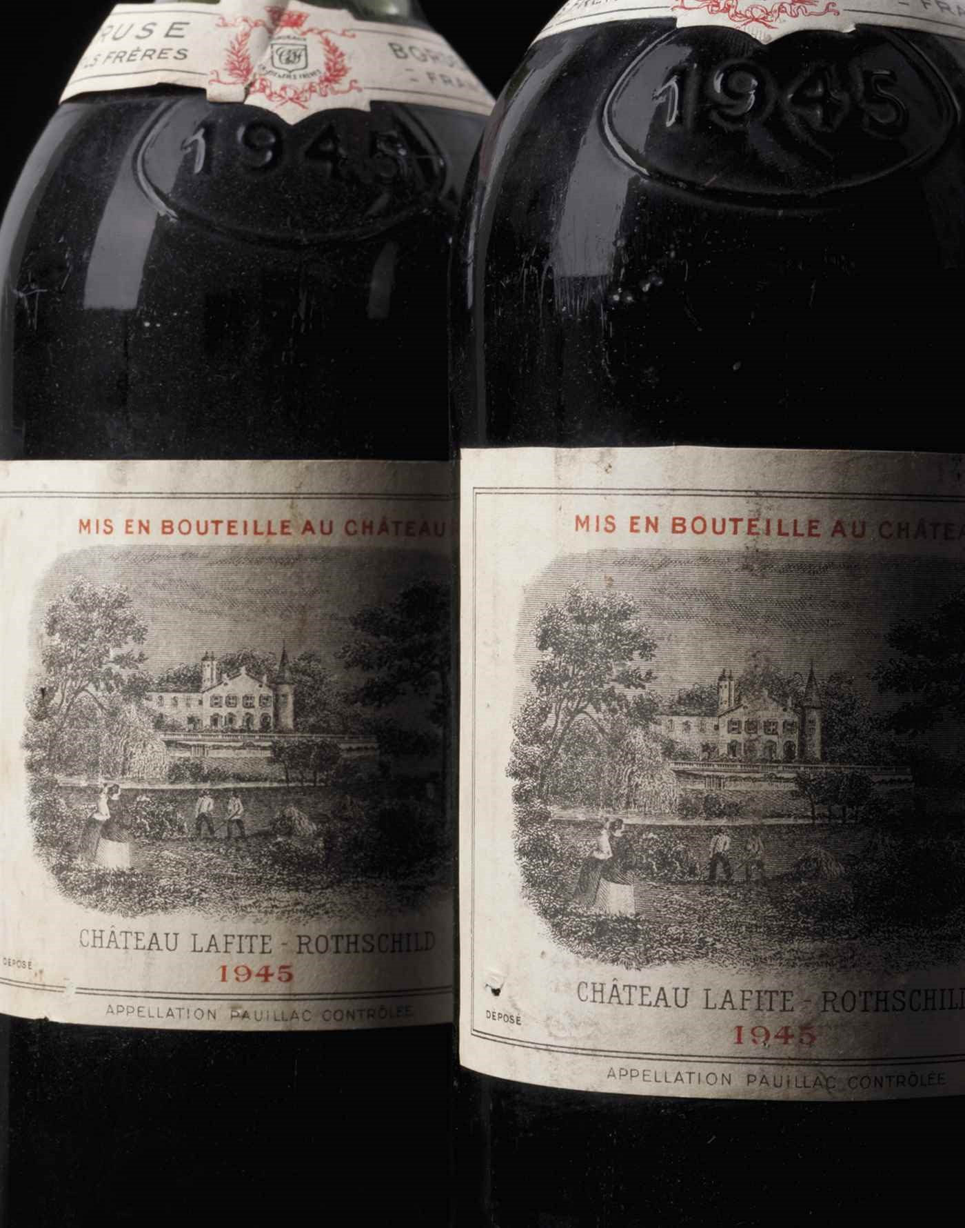 Fine Wines and Spirits Featuri auction at Christies