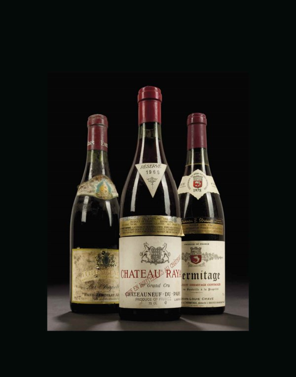 Finest Wines and Spirits: The  auction at Christies