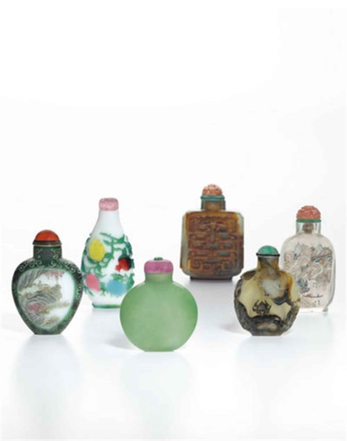 The Ruth and Carl Barron Collection of Fine Chinese Snuff Bottles: Part IV