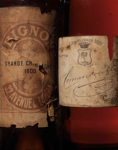 Finest Wines & Spirits Featuring Historic Cognacs From the Collection of Graycliff Hotel & Restaurant