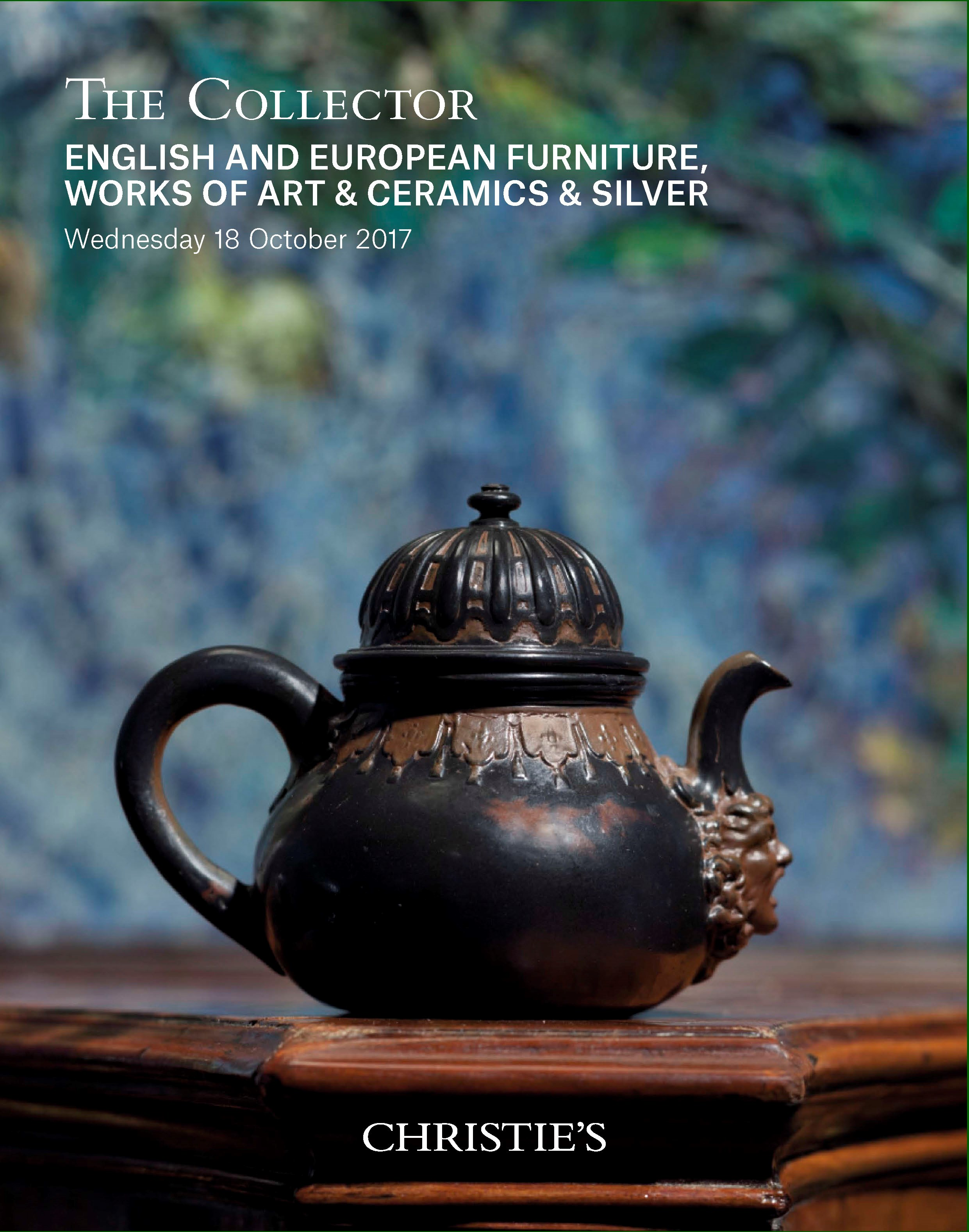 THE COLLECTOR: English and Eur auction at Christies