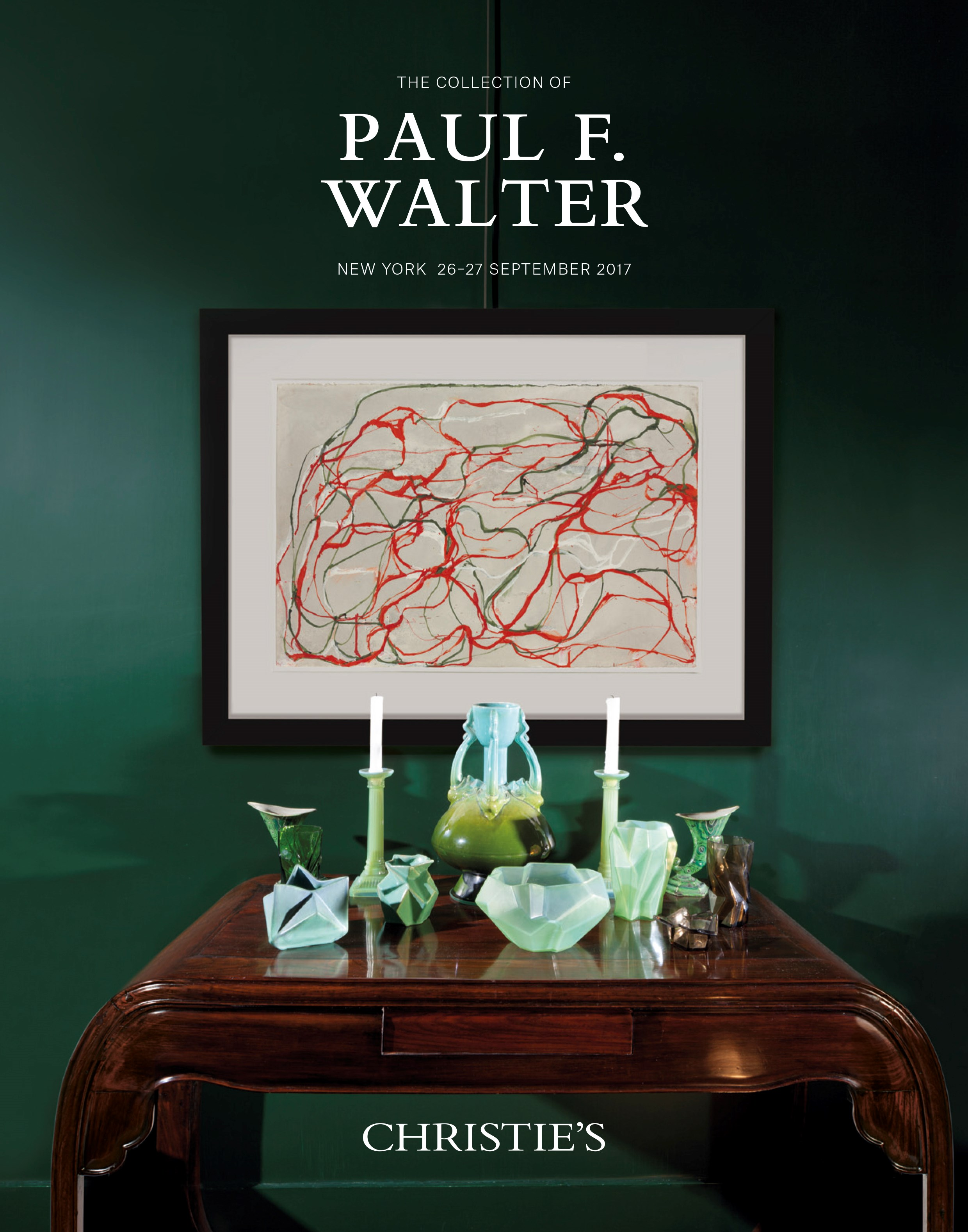 The Collection of Paul F. Walt auction at Christies