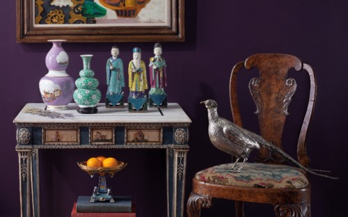 The Collector: English and European 18th and 19th Century Furniture, Ceramics, Silver & Works of Art