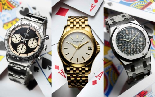 Christie's Watches Online: Play with Time