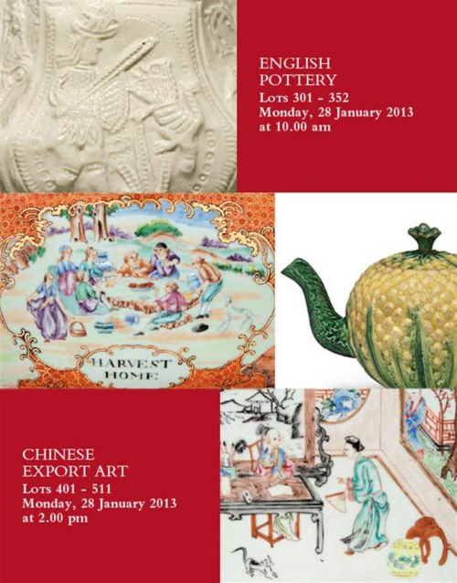 English Pottery and Chinese Export Art