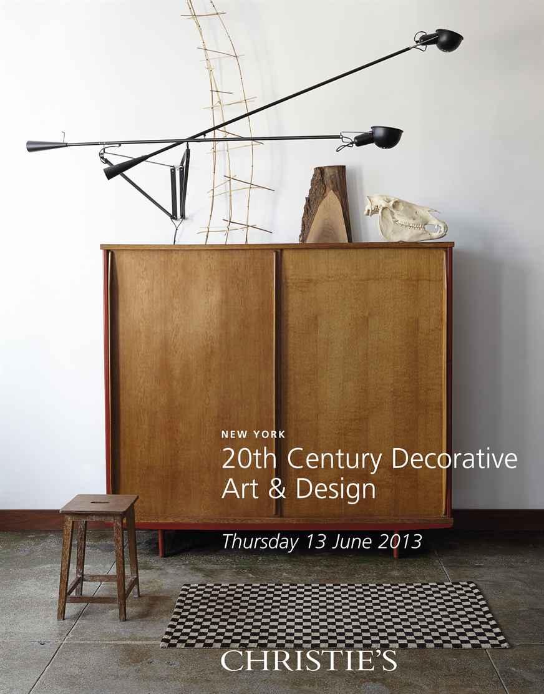 Christie's 20th Century Decorative Art Design Sale