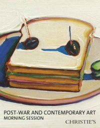 Post-War & Contemporary Mornin auction at Christies