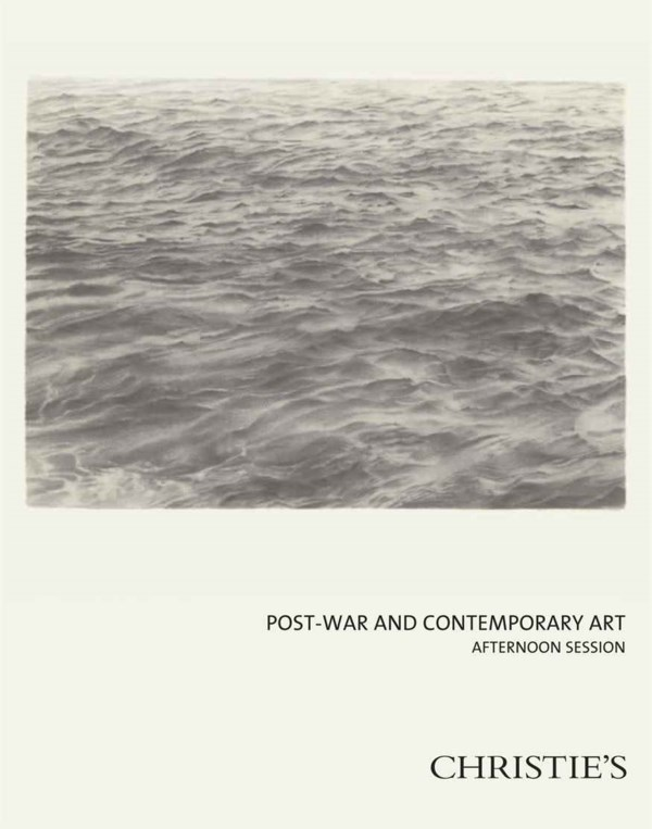 Post-War and Contemporary Afte auction at Christies