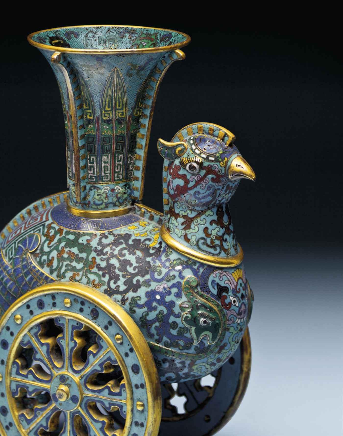 Rivers of Color: Cloisonné Ena auction at Christies