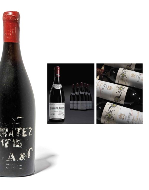 Fine and Rare Wines Featuring Rare Formats of Masseto, Three Centuries of Madeira, and 1990 Romanée-Conti
