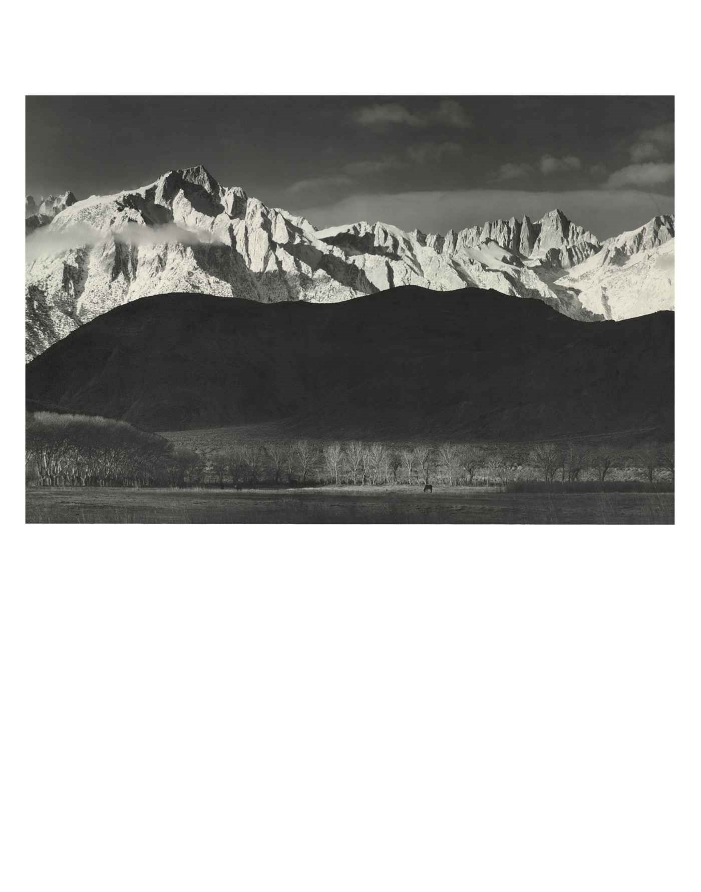 The Range of Light: Photograph auction at Christies
