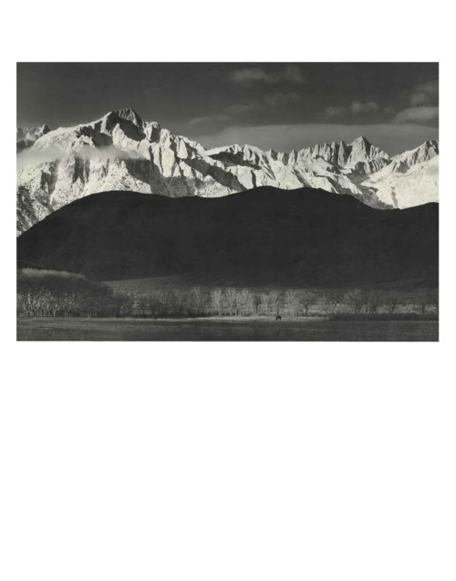 The Range of Light: Photographs by Ansel Adams