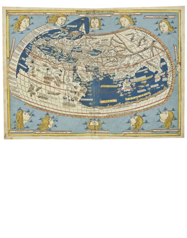 Rare Maps from Kenneth Nebenza auction at Christies