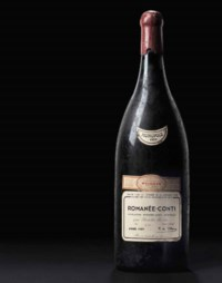 Finest and Rarest Wines: The E auction at Christies