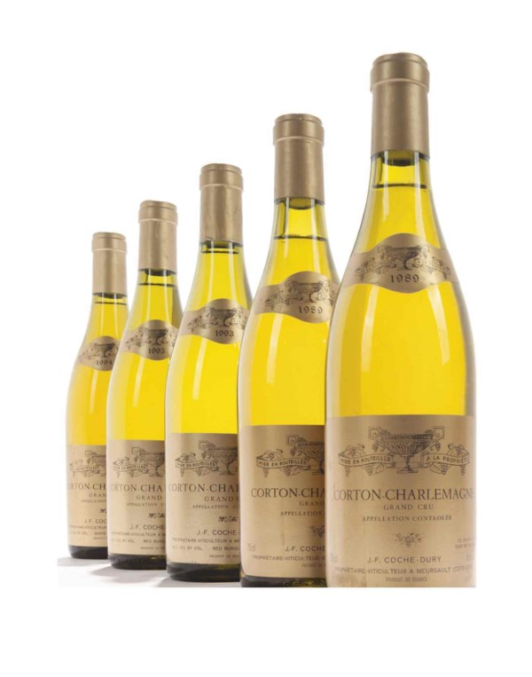 Exceptional Crus of the Côte d auction at Christies